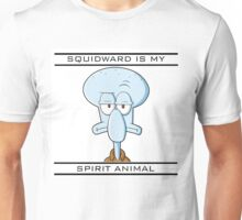 Squidward is my Spirit Animal Unisex T-Shirt