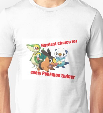 hard choice Unisex T-Shirt