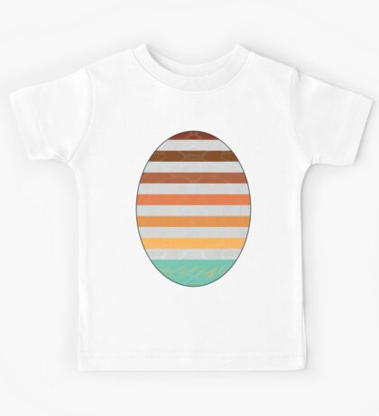 Abstract Wall With Water Kids Tee