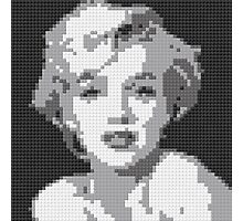 Marilyn LEGO Art by Ogel Studio Photographic Print