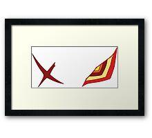 Senketsu Design Framed Print