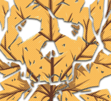 Dead Leaf Sticker