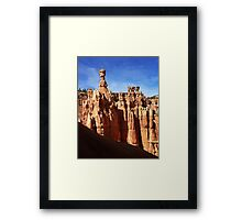 Thor's Hammer And The Three Gossips Framed Print