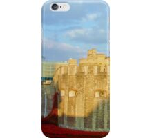 Blood Filled Moat - Tower of London iPhone Case/Skin