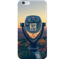 A View of the World iPhone Case/Skin
