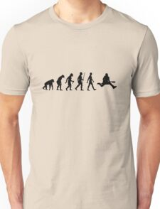 The evolution of guitarist. I love to play guitar. Unisex T-Shirt