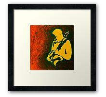 Rock Star Acrylic Framed Print