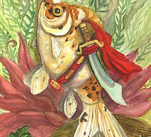 PomPom Goldfish Warrior by Tessa Roever