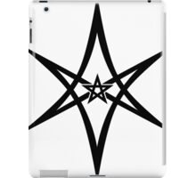 Unicursal Hexagram, Pentagram, Star iPad Case/Skin
