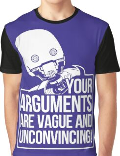 Vague And Unconvincing Graphic T-Shirt