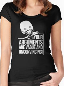 Vague And Unconvincing Women's Fitted Scoop T-Shirt
