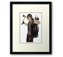 Daryl Dixon - The Walking Dead Framed Print