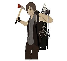 Daryl Dixon - The Walking Dead Photographic Print