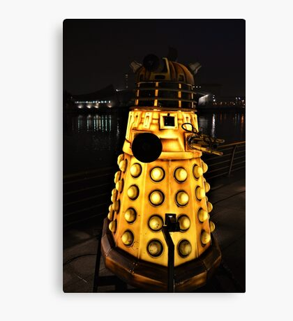 A Dalek (Exterminate!) Canvas Print
