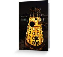 A Dalek (Exterminate!) Greeting Card