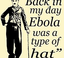 EBOLA HAT by JamesChetwald