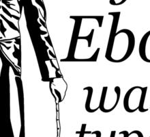 EBOLA HAT Sticker