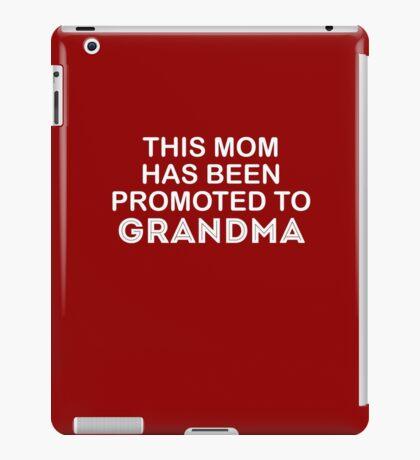 To Grandma Cute New Baby  iPad Case/Skin