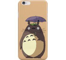 My Neighbour Totoro - Umbrella Totoro iPhone Case/Skin