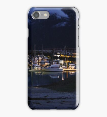 Skagway's Small Boat Harbor iPhone Case/Skin