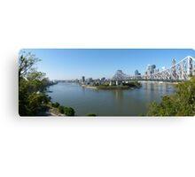 Brisbane panorama Canvas Print