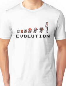 Pokemon Evolution - Pokemon Go Version Unisex T-Shirt