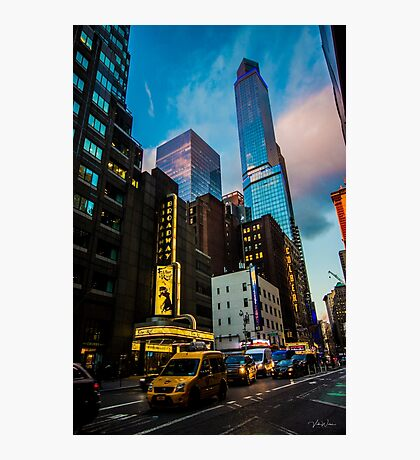 Broadway, New York, USA Photographic Print