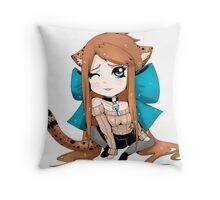 Madilyn Chibi Throw Pillow