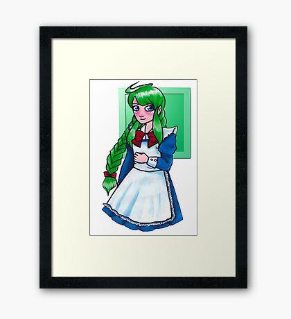ME-tan Framed Print