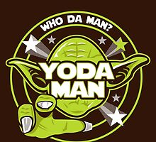 Yoda Man by Grafx-Guy