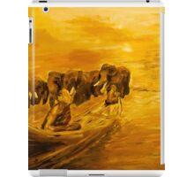 Monks and Elephants iPad Case/Skin
