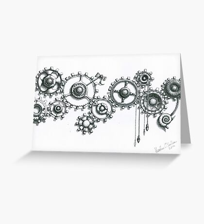 Cogs #6 Greeting Card