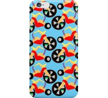 Big Wheel Pattern iPhone Case/Skin