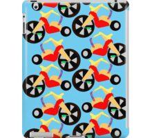 Big Wheel Pattern iPad Case/Skin