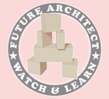 Future Architect Kids T-Shirt One Piece - Short Sleeve