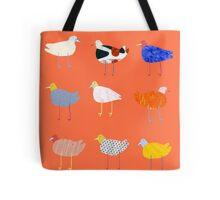 You Funky Bird Tote Bag