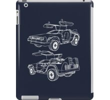 Delorean Time Machine iPad Case/Skin