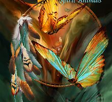 Dream Catchers 2-Spirit Animals Art Calendar 2015 by Carol  Cavalaris