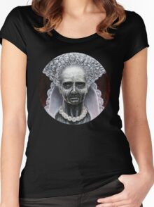 Countess Elizabeth Báthory Women's Fitted Scoop T-Shirt