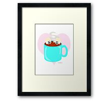 Hot Cocoa Love Framed Print