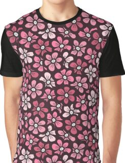 beautiful pink floral pattern Graphic T-Shirt
