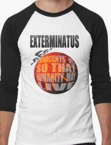 Exterminatus Full Men's Baseball ¾ T-Shirt