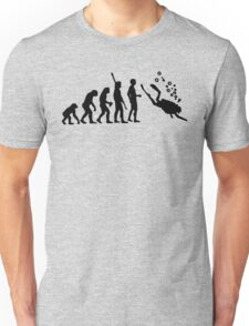 Evolution Of Scuba Diving Black Funny Unisex T-Shirt