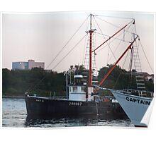 Galiee, rhode island fishing boats Poster