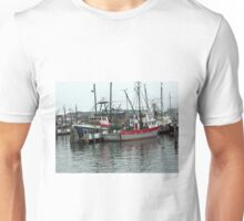 Galiee, rhode island fishing boats at the docks Unisex T-Shirt