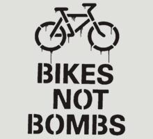 BIKES NOT BOMBS by derP