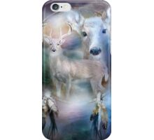 Dream Catcher - Spirit Of The White Deer iPhone Case/Skin