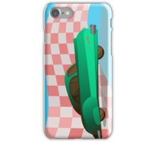 Race car iPhone Case/Skin