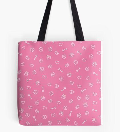 cute seamless valentine pattern Tote Bag