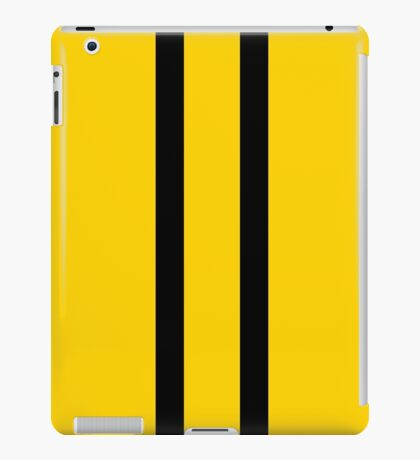 Bruce Bee Bumble Lee Stripes iPad Case/Skin